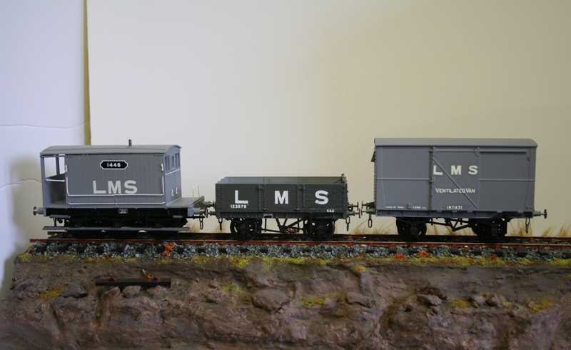 LMS Wagons ready for weathering 002