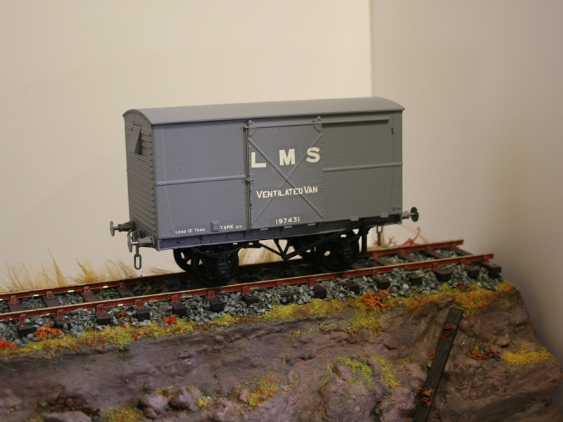 LMS Wagons ready for weathering 003
