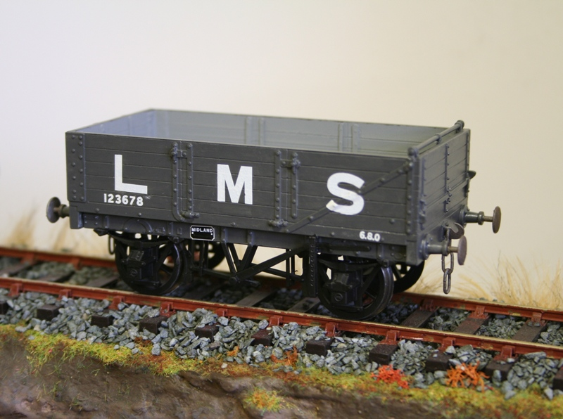 LMS Wagons ready for weathering 004