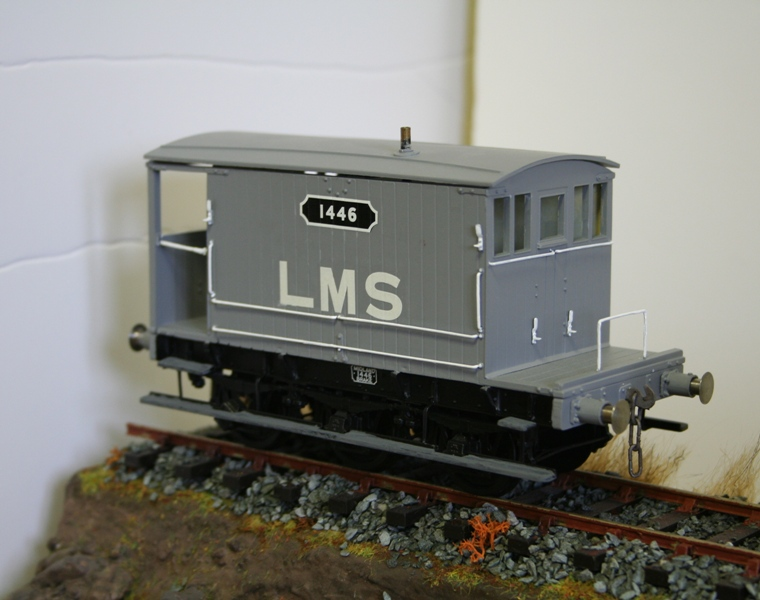 LMS Wagons ready for weathering 006