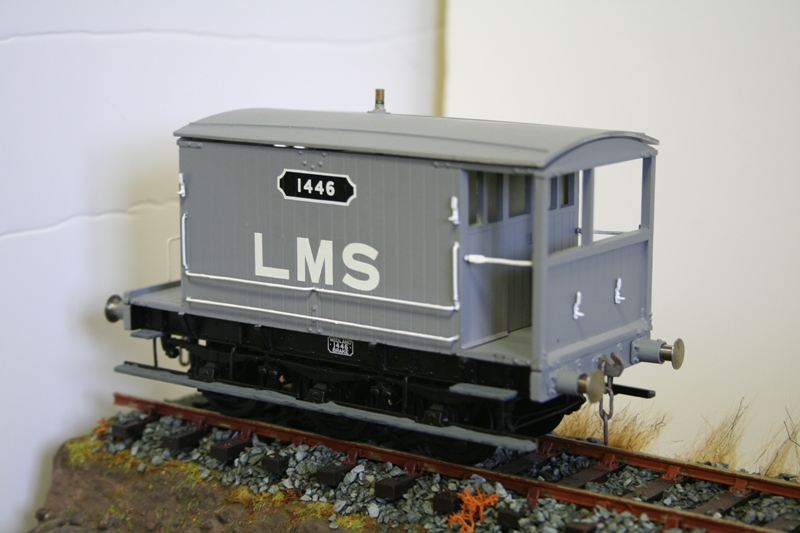 LMS Wagons ready for weathering 007