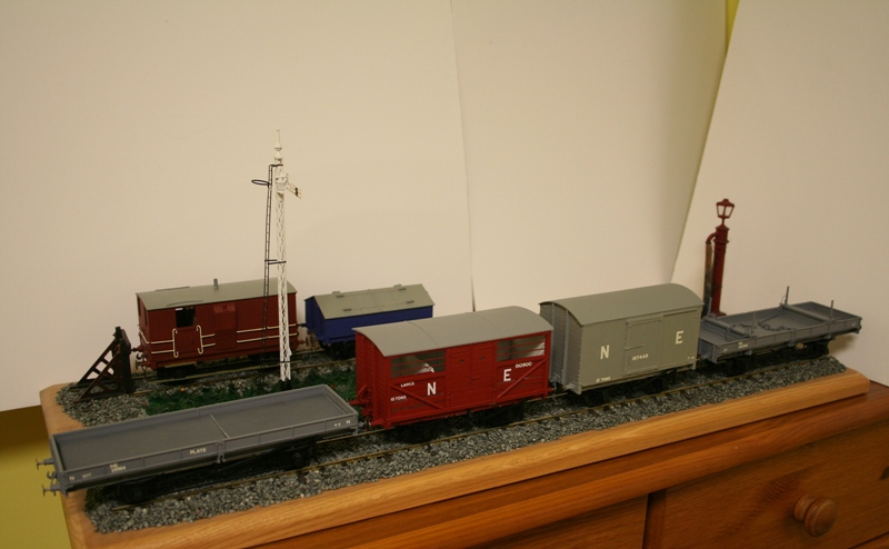 LNER Wagons Ready for weathering 001