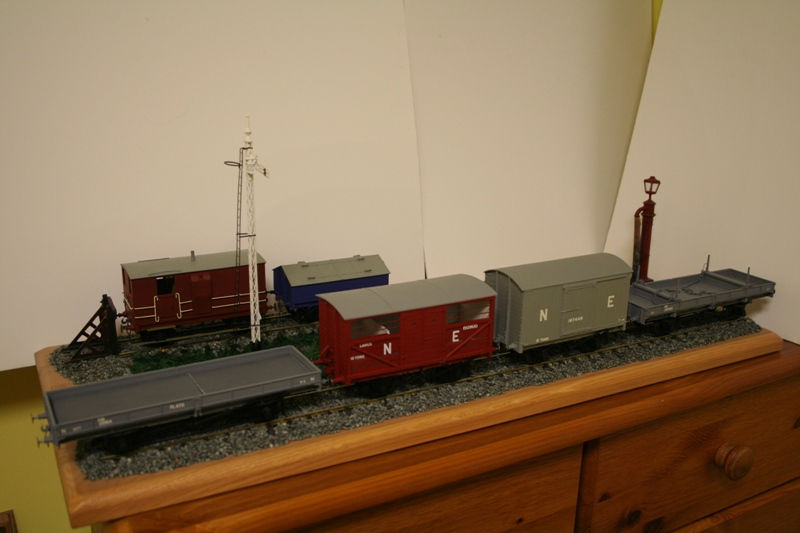 LNER Wagons Ready for weathering 002