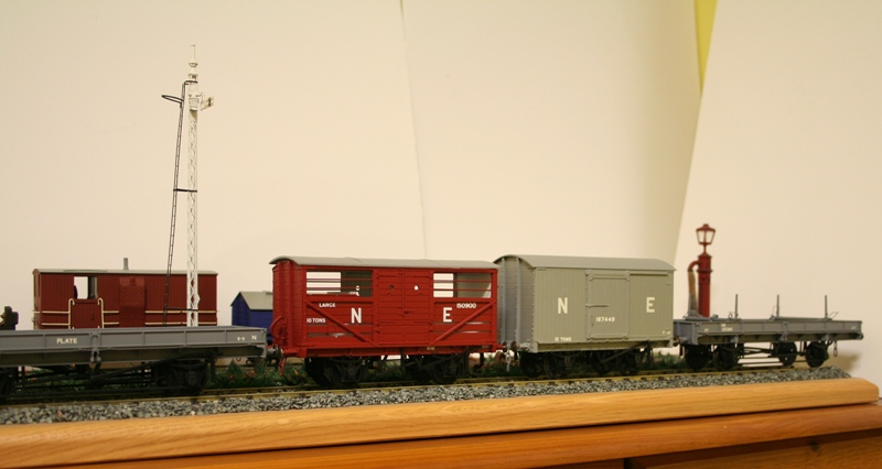 LNER Wagons Ready for weathering 004