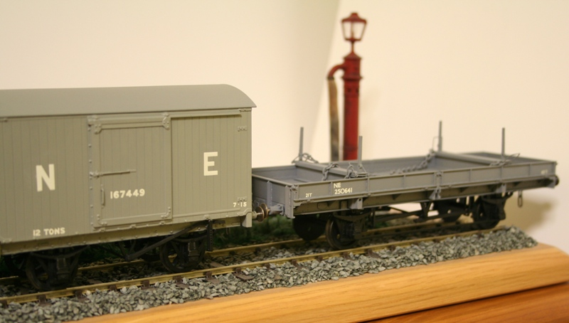LNER Wagons Ready for weathering 009