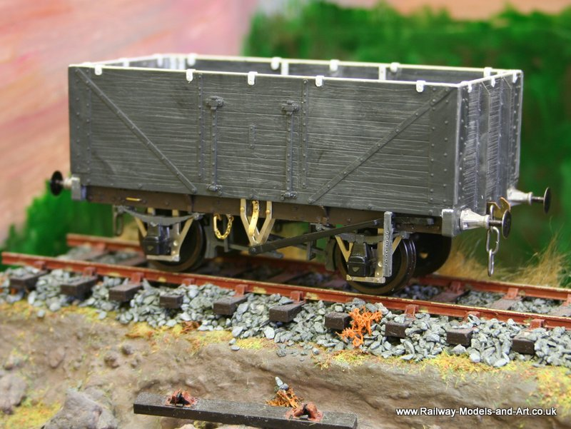 Slaters LMS 7 Plank Open Wagon
