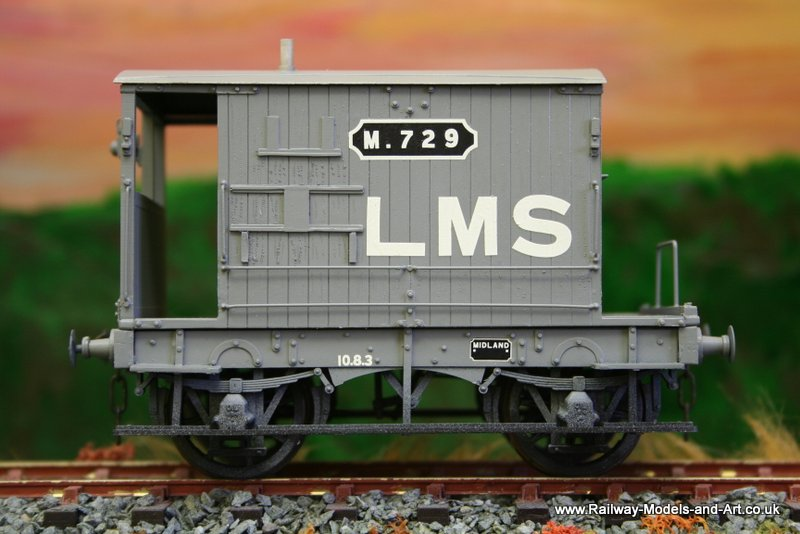 Slaters MR 10 Ton Brake Van