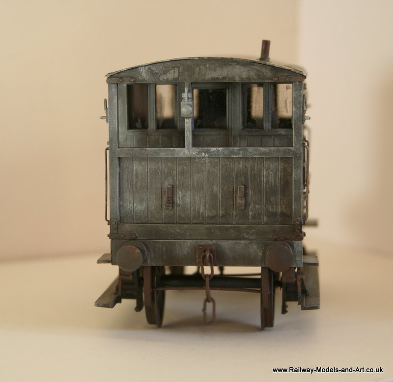 Weathered Slaters MR-LMS 10 Ton Brake Van