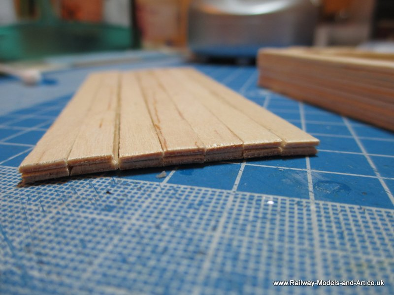 Timber wagon load from Coffee Stirrers