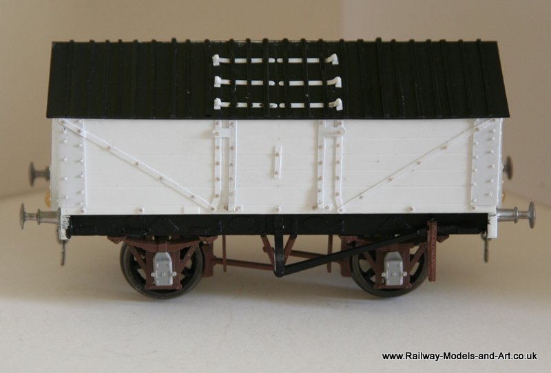 Scratch Built Lime Wagon