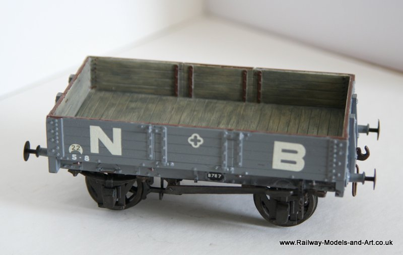 Parkside NBR 4 Plank Open Wagon