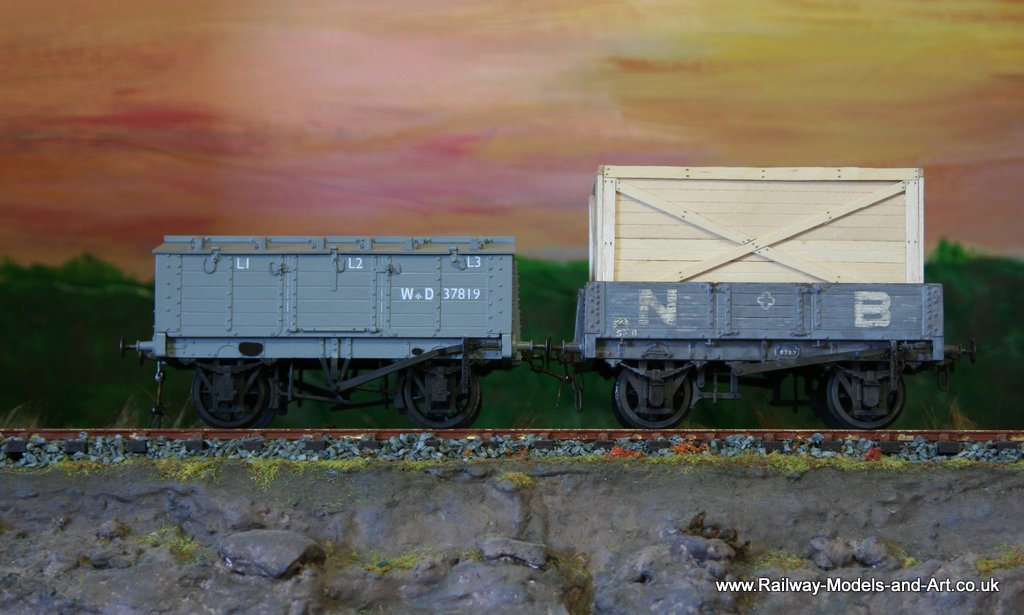 Locker wagon and NBR 4 Plank