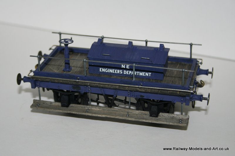 Scratch Built NER Shunters Truck