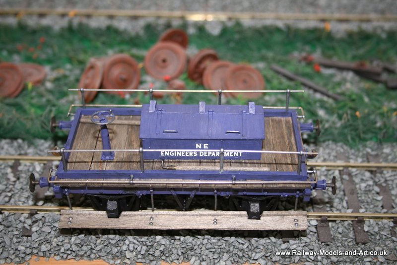 Scratch Built 7mm Scale NER Shunters Truck