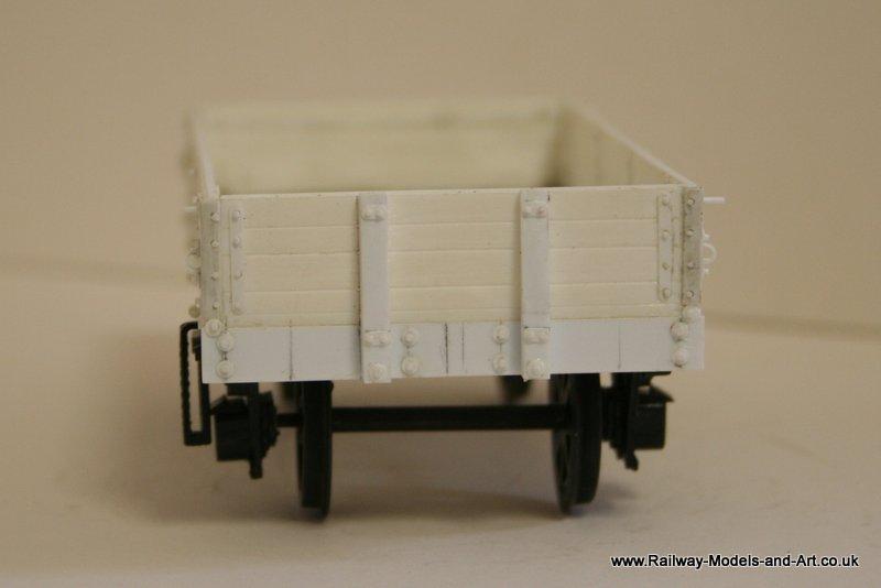 Scratch Built NBR 4 Plank Dropside Wagon
