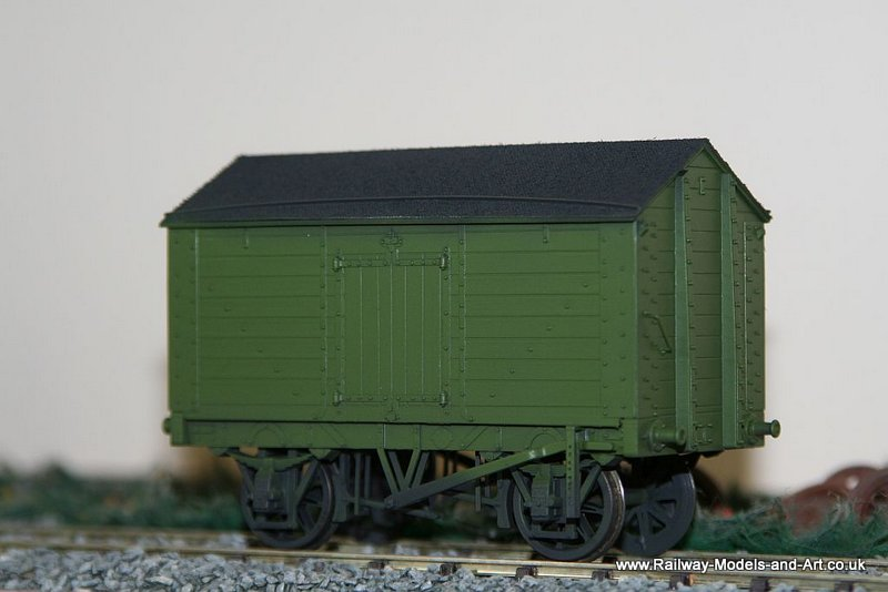 Slaters 7mm Scale Salt Van