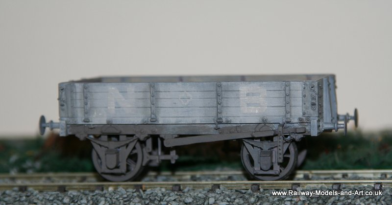 Scratch Built NBR 4 Plan Dropside Wagon