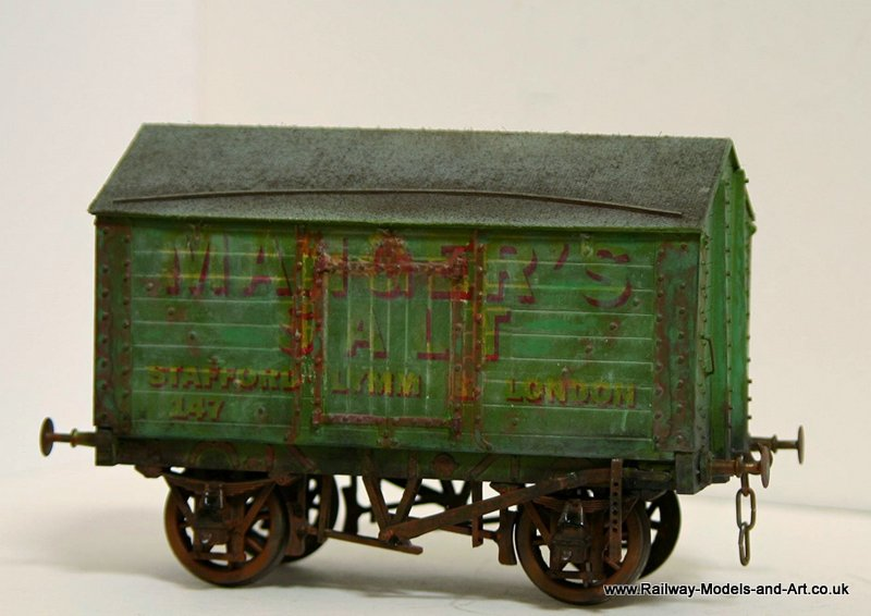 Slaters 7mm PO Salt Wagon