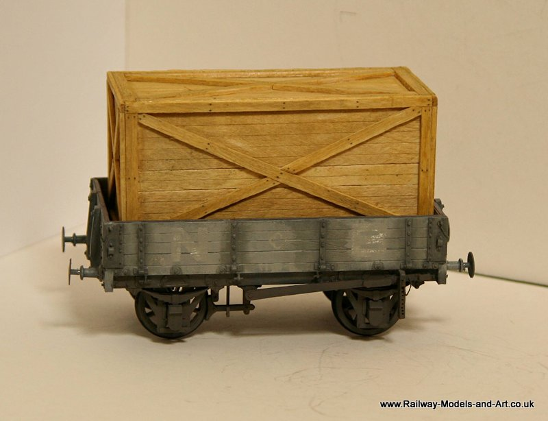 Scratch Built NBR 4 Plank Dropside Wagon