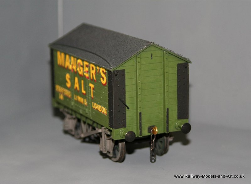 Slaters PO Salt Van - Mangers