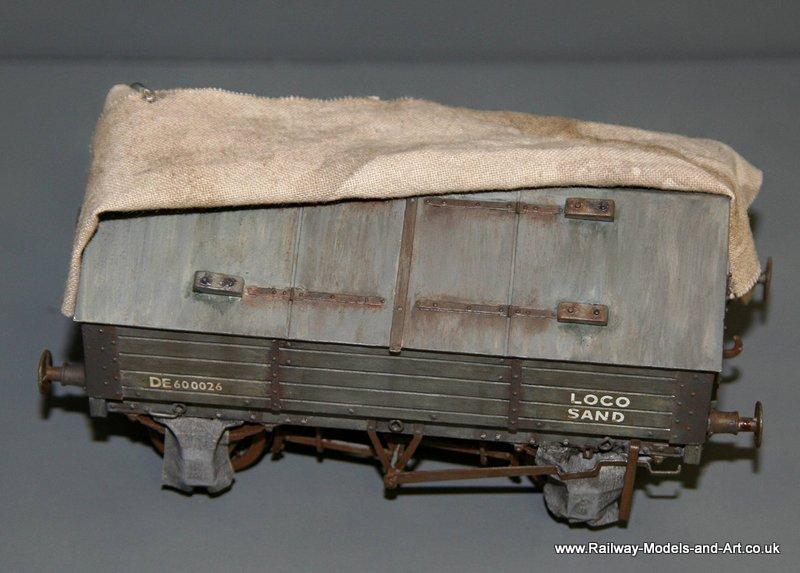 Connoisseur Models Sand Wagon