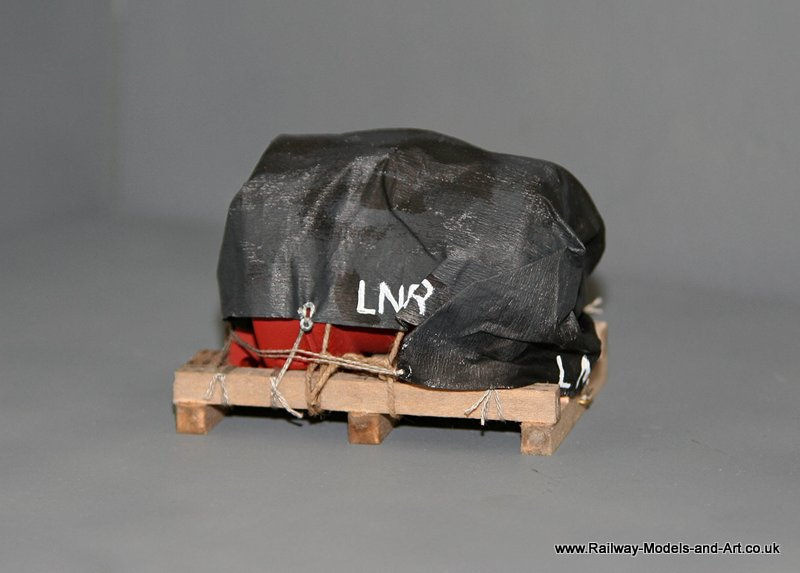 7mm Scale Sheeted Wagon Load