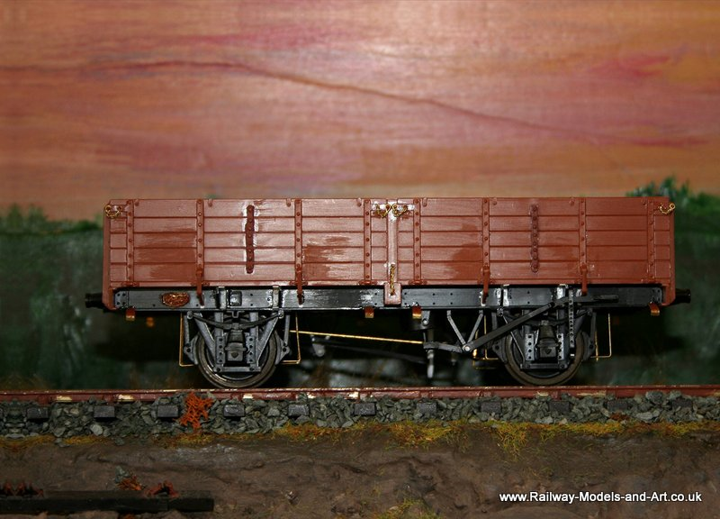 Parkside LNER 12 ton Pipe Wagon ready for painting