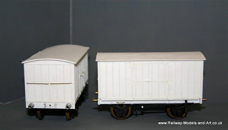 Scratch Built NBR 8 Ton Jubilee Vans