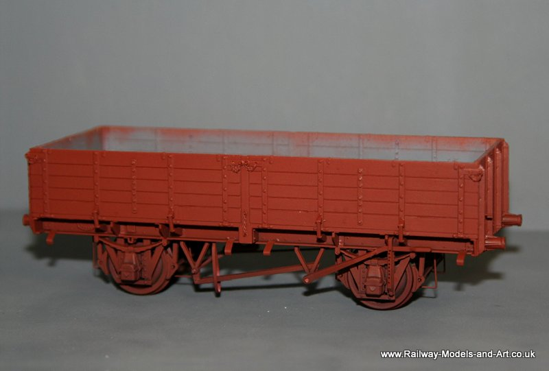 LNER Pipe Wagon adapted from a Parkdside BR Pope wagon Kit