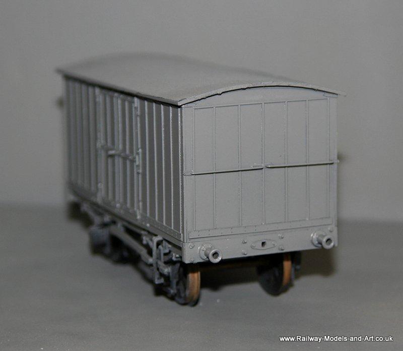 Scratch built NBR Jubilee Vans