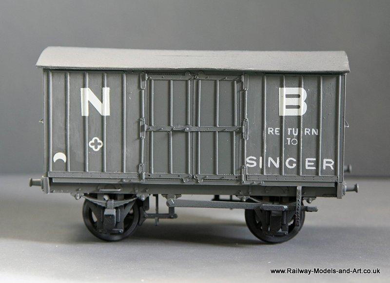 Scratch Built ex NBR Jubilee Vans