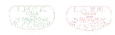 LNER Plate