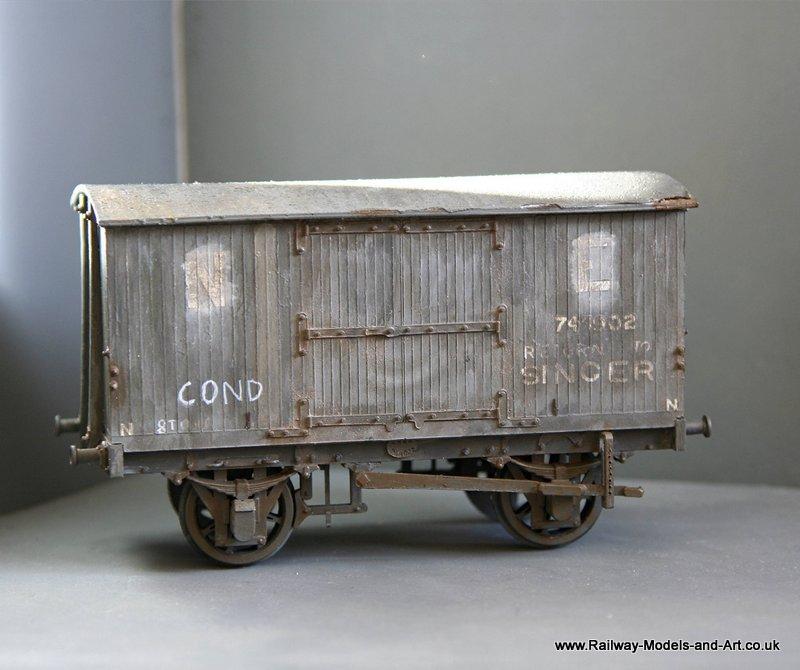 ex NBR Condemned Van