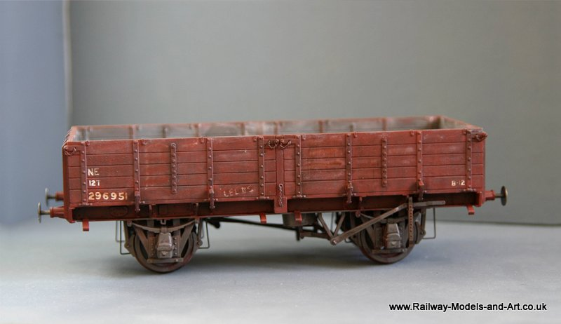 LNER Pipe Wagon