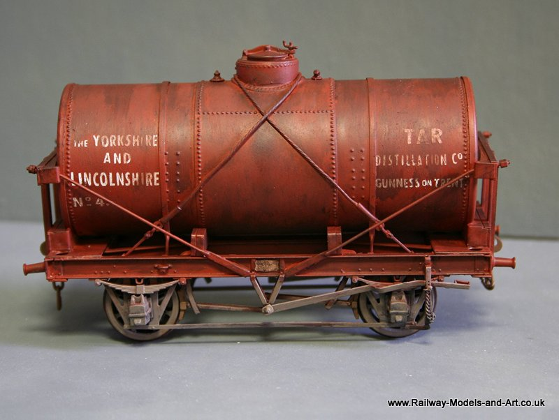 Slaters 14 Ton Tank Wagon with replacement brass tank barrel