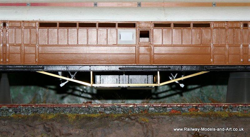 7mm Scaler Ian Kirk 51 foot bogie brake van