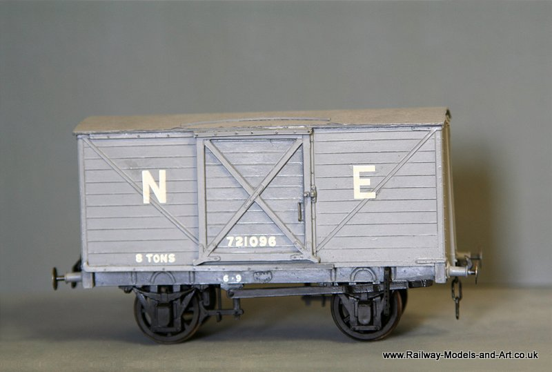 Scrtach built ex NBR D39B Van