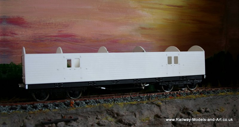 &mm scale Scratch built NBR Bogies CCT