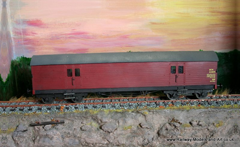 7mm Scale Ex NBR Bogie CCT in BR livery