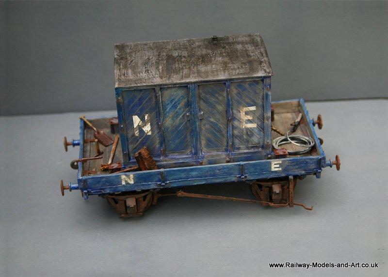 Ex GNSR Vacuum Cleaner Wagon