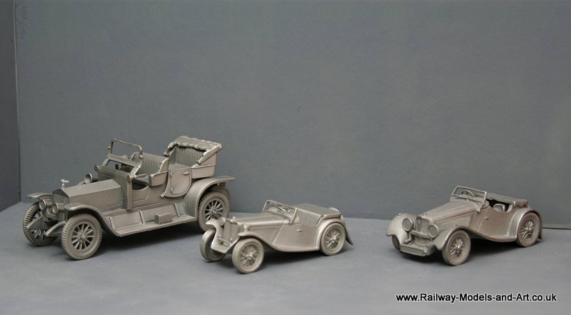 3 1/43 scale Cars