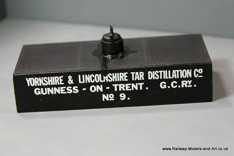 7mm Scale Scrtach Built Tar Tank
