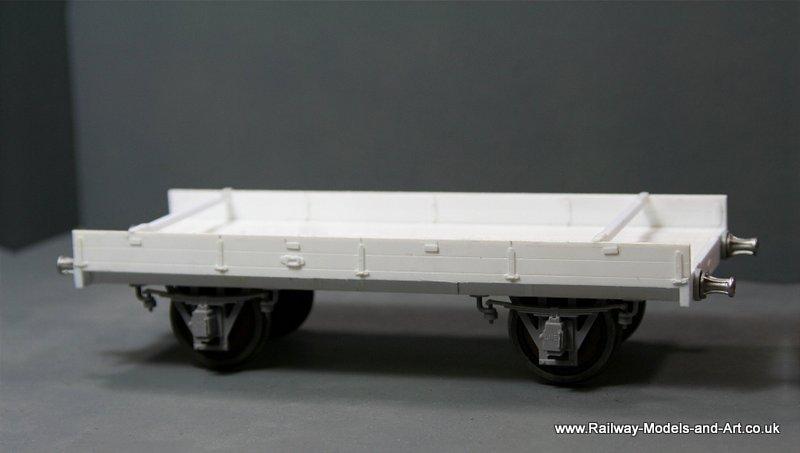7mm scale Scratch Built ex GNR OCT